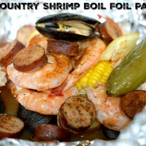 Low Country Shrimp Boil Foil Packets