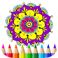 App Mandalas Adult Coloring Book APK for Kindle