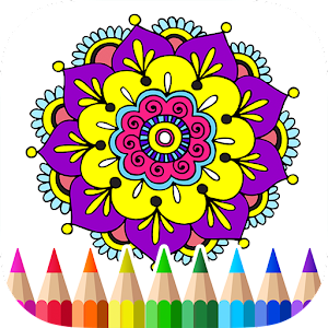 App Mandalas Adult Coloring Book APK For Windows Phone