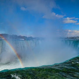 Niagara Falls by Aaron Whitaker - Landscapes Waterscapes ( water, waterfall )