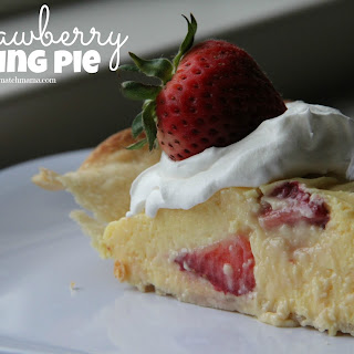 Strawberry Pudding Pie Recipes
