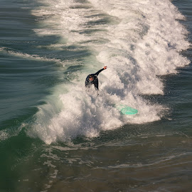 California Surfing by Jeanine Akers - Sports & Fitness Surfing ( surfing, waves, california, san  diego, pacific ocean )