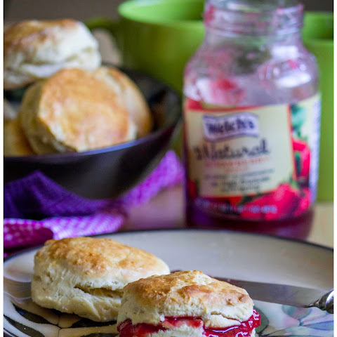 Biscuit ~ Quick and filling breakfast recipe !