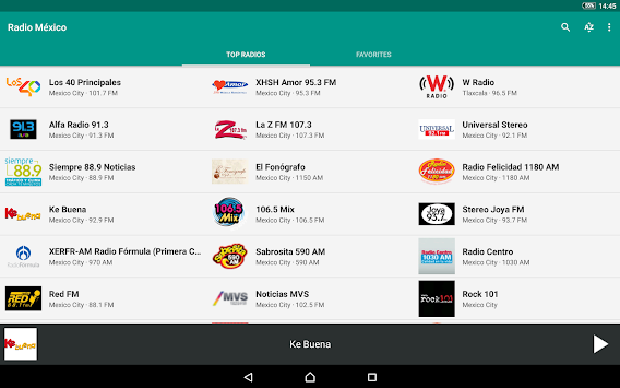Radio México APK screenshot thumbnail 6