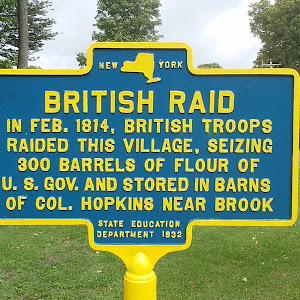 War of 1812 British Raid Hopkinton NY