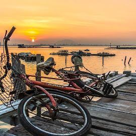 Dove Jetty by Lim Keng - Transportation Bicycles