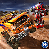 Game Ultimate Truck vs Super Robots APK for Kindle