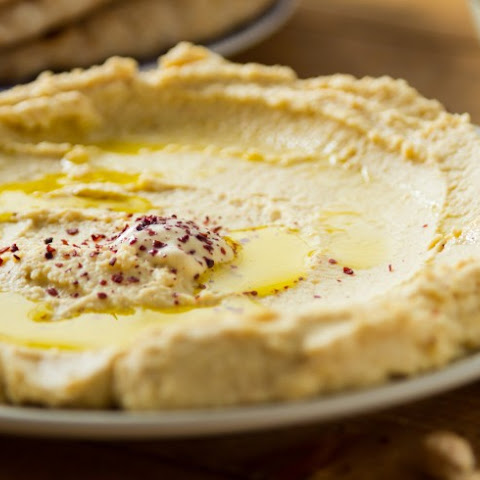 Hummus Party Dip With Ground Sumac
