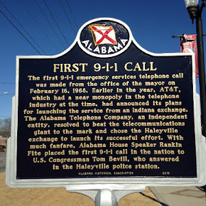 FIRST 9-1-1 CALL The first 9-1-1 emergency services telephone call was made from the office of the mayor on February 16, 1968. Earlier in the year, AT&T, which had a near monopoly in the telephone ...
