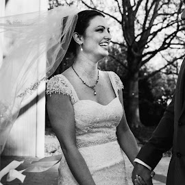 It's you and me now! by Terri Moore - Wedding Bride & Groom