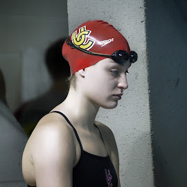 Pre-Race calm before the storm by Rick Pelletier - Sports & Fitness Swimming
