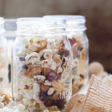 Back to School Popcorn Snack Mix