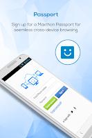 Screenshot of Maxthon Web Browser - Fast