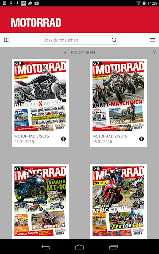 MOTORRAD Digital - screenshot