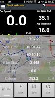 Screenshot of Bike Speedometer