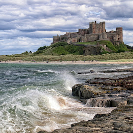 by Bob Brown - Landscapes Travel ( ne england, bamburgh, northumbria, sea, castle )