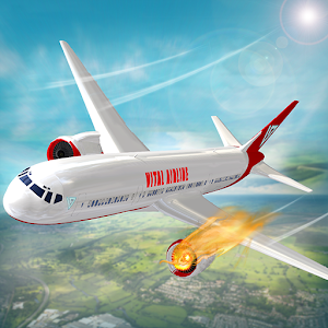 Cover art Airplane Flight Airport Rescue