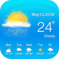 Live Weather Update 2018 : Todays Weather Forecast PC Download Windows 7.8.10 / MAC