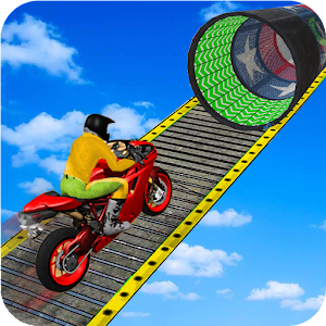 Racing Moto Bike Stunt : Impossible Track Game Online PC (Windows / MAC)