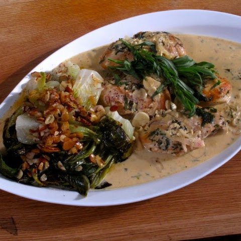 Sauteed Chicken Breasts with Dijon Herb Sauce