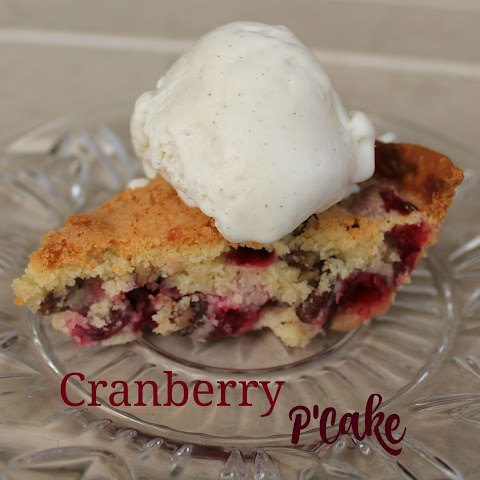 Cranberry P'Cake- Our Holiday Favorite from Cape Cod