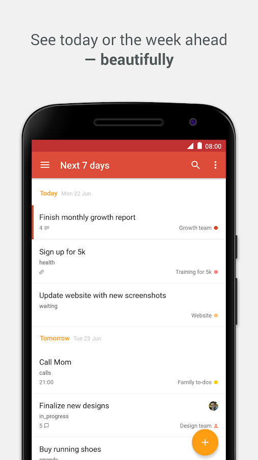Todoist: To-Do List, Task List Screenshot 0
