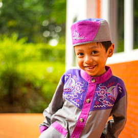 Smile by Firdaus Sukmono - Babies & Children Children Candids ( child, children, happiness, candid, people )