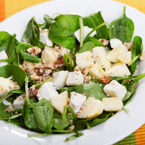 Spinach & Pear Salad