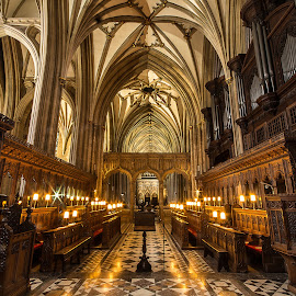 Bristol Cathedral. by Simon Page - Buildings & Architecture Places of Worship