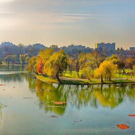 An Autumn afternoon by Radu Eftimie - City,  Street & Park  City Parks ( bucharest, romania, city park )