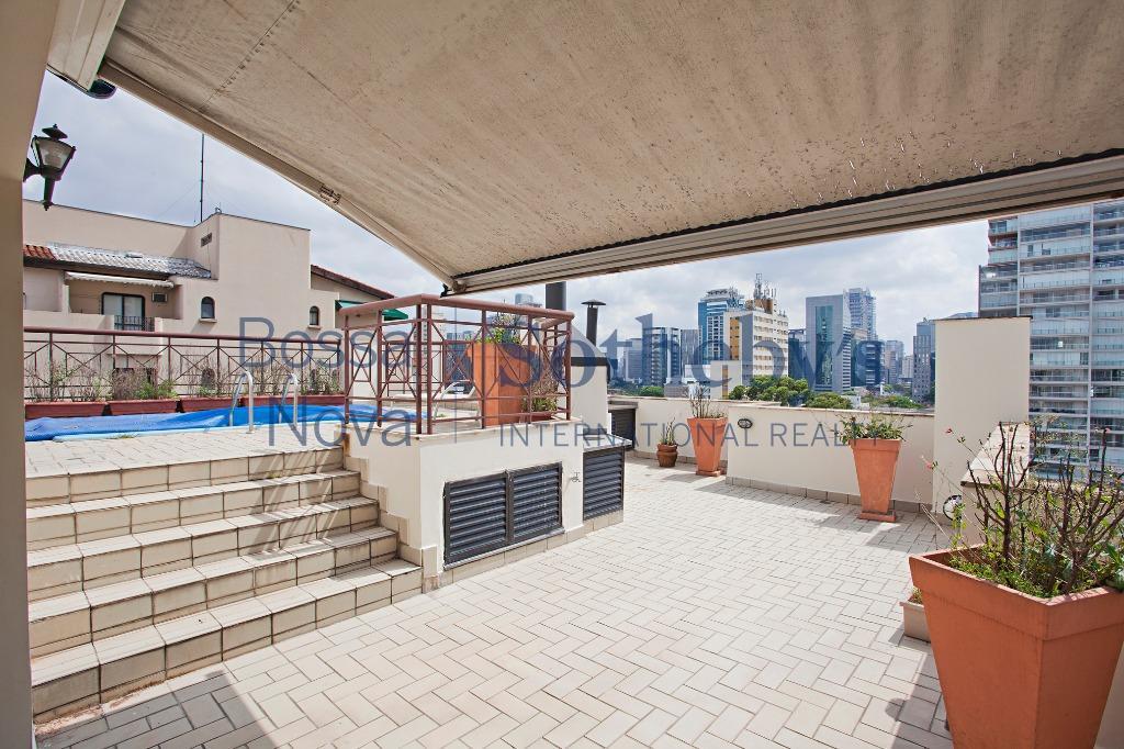 Cobertura residencial à venda, Itaim, São Paulo - CO1703.