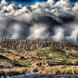 Wild Clouds by Candy Ellison - Landscapes Weather