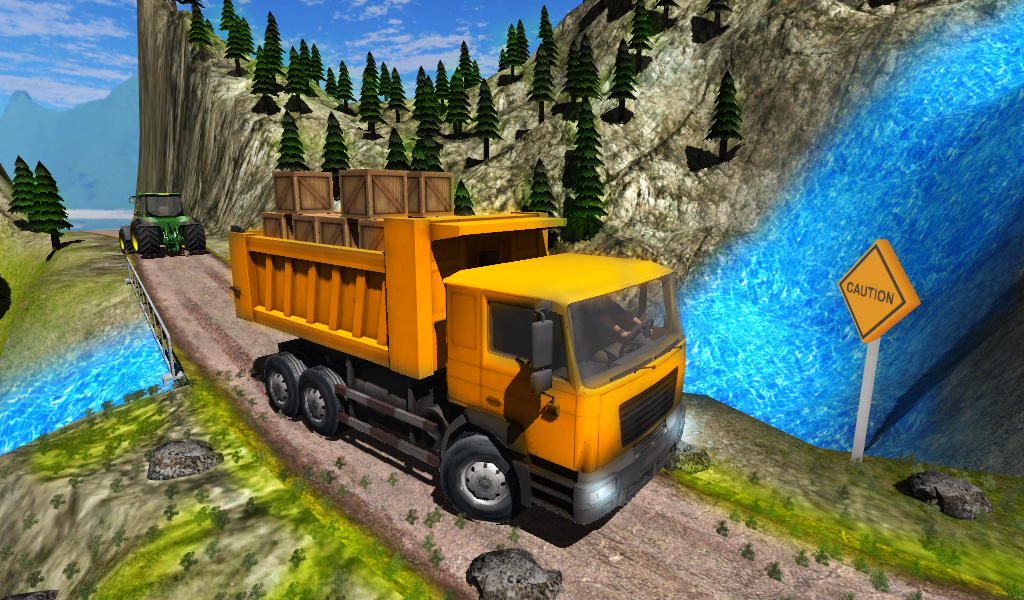 Truck Driver Cargo Screenshot 0
