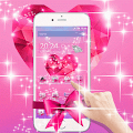 App Pink Love Diamond Bowknot apk for kindle fire