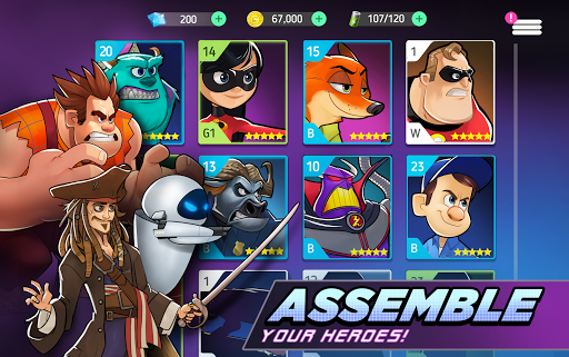 Disney Heroes: Battle Mode For PC