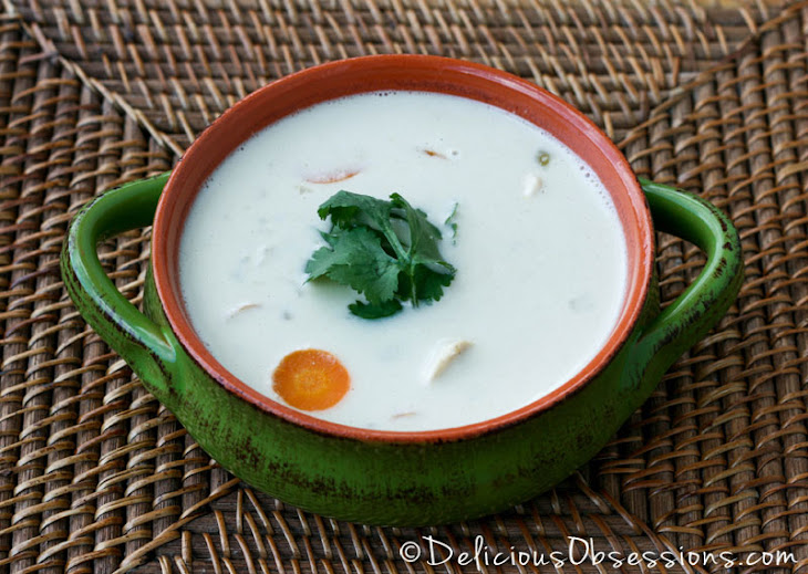 Coconut Green Chili Chicken Soup (dairy and gluten free) Recept ...