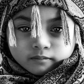 by Luna Almira  Ali - Black & White Portraits & People