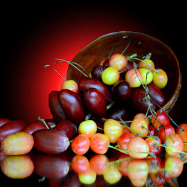 Dates n cherries  by Asif Bora - Food & Drink Fruits & Vegetables