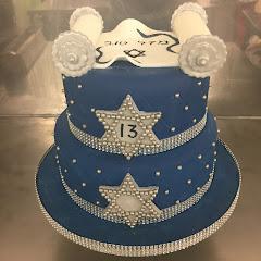Bar mitzvah celebration cake