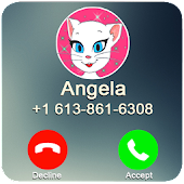 Download Full A Call From Talking Angela 1.0 APK