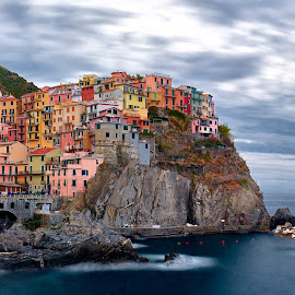 Framing Manarola by Jimmy Kohar - City,  Street & Park  Vistas