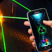 Strong Laser Pointer Simulator