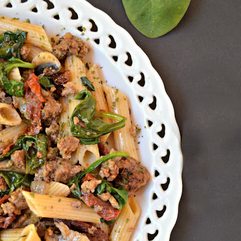 Sun Dried Tomato Penne with Beef