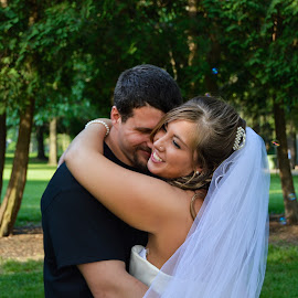 True love by Rebekah Cameron - Wedding Bride & Groom
