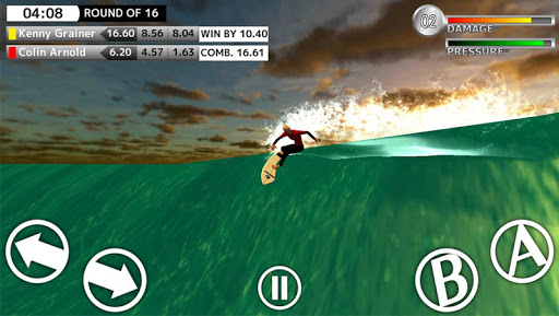 BCM Surfing Game - screenshot