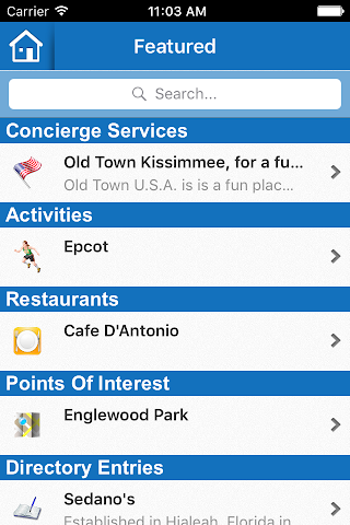 android Excellent Vacation Homes Screenshot 1