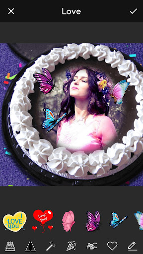 Pic on Birthday Cake with Name and Photo Maker screenshot 3