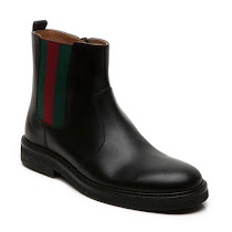 Gucci Junior Zip Leather Boot BOOT