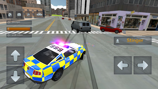 Police Car Driving vs Street Racing Cars