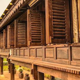Malay Traditional House by Mohd Khairil Hisham Mohd Ashaari - Buildings & Architecture Public & Historical ( traditional, heritage, history, house, architecture )